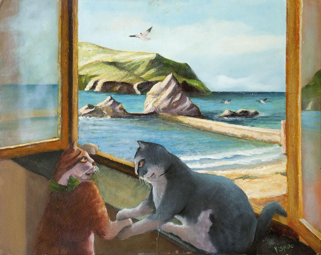 Gatti alla finestra